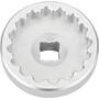Cyclus Tools Innenlagerabzieher 3/8 Drive für Shimano Dura Ace BB-9000 11-fach silber