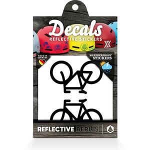 REFLECTIVE BERLIN Decals Reflective Sticker, noir noir