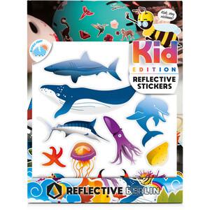 REFLECTIVE BERLIN K.I.D. Reflective Sticker maritim maritim