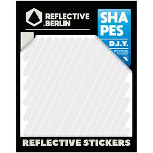 REFLECTIVE BERLIN Shapes Heijastintarra, valkoinen valkoinen