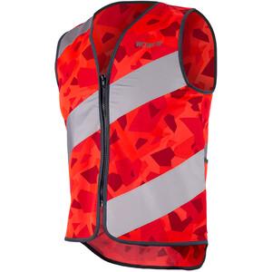 Wowow Roadie Rysy Safety Vest, punainen punainen