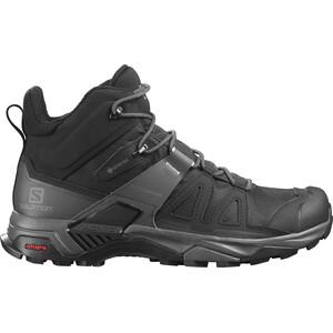 Salomon X Ultra 4 Mid GTX Shoes Men, czarny/szary czarny/szary