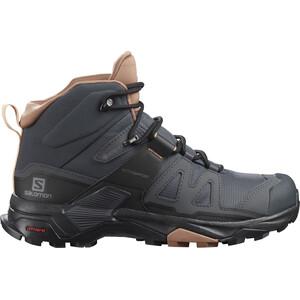 Salomon X Ultra 4 Mid GTX Shoes Women, gris/marron gris/marron