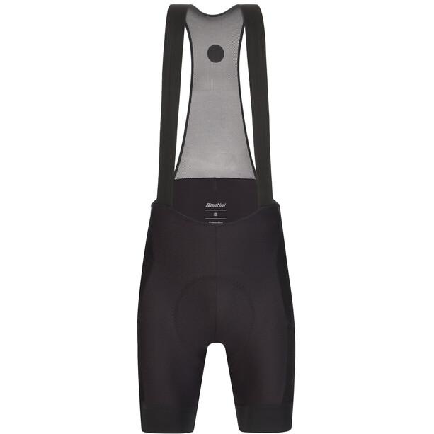 Santini Gravel Bib Shorts with C3W Seatpad Women, noir