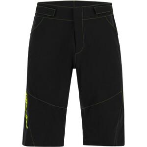 Santini Selva MTB Shorts Hombre, negro/verde negro/verde