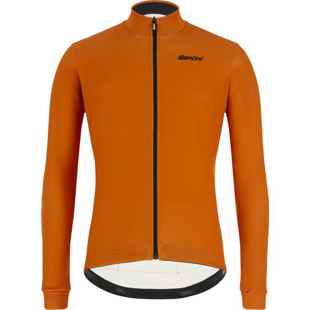 Santini Colore Gravel L/S Jersey Men, orange
