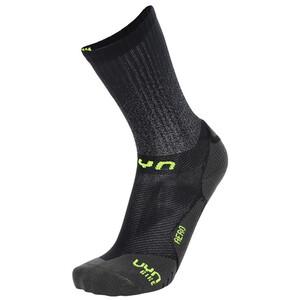 UYN Cycling Aero Winter Socken Herren schwarz schwarz