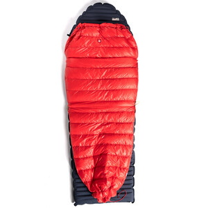 PAJAK QUEST Quilt Sleeping Bag Universal, rojo rojo