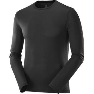 Salomon Agile LS Shirt Men, noir noir