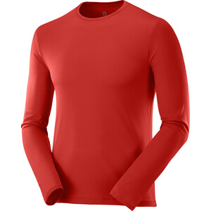 Salomon Agile Langarmshirt Herren rot rot