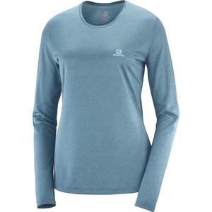 Salomon Agile Langarmshirt Damen blau blau
