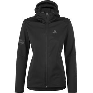 Salomon GTX WS Softshell Jacket Women, noir noir
