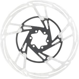 Jagwire Pro LR2 Bremseskive 6-bolt, sølv/sort sølv/sort