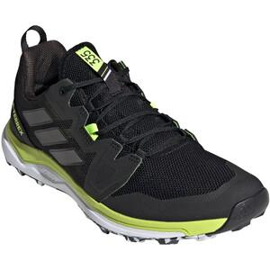 adidas TERREX Agravic Trail Running Shoes Men, negro/amarillo negro/amarillo