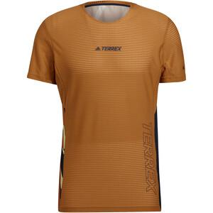 adidas TERREX Parley Agravic Pro T-Shirt Herren braun braun