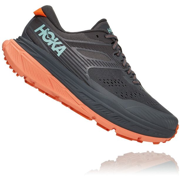 Hoka One One Stinson ATR 6 Running Shoes Women grå