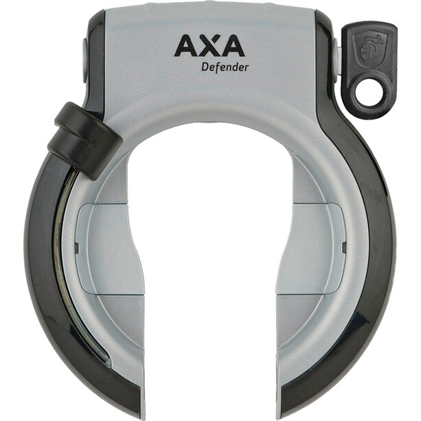 Axa Defender Frame Lock Retractable, argent