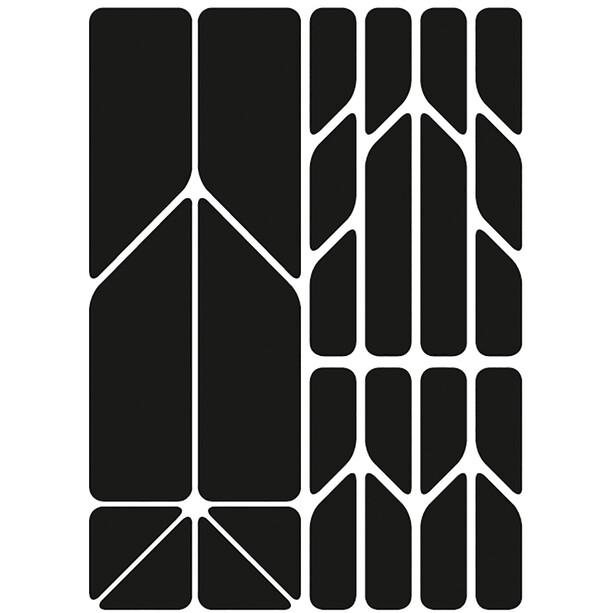 Riesel Design re:flex plus Reflektierende Aufkleber schwarz