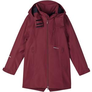 Reima Muutun Reimatec Jacket Girls röd röd