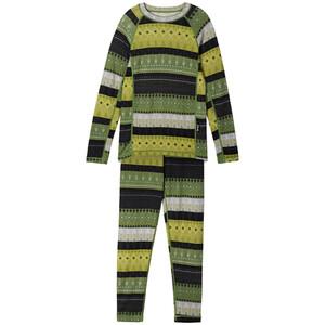 Reima Taitoa Thermal Set Kids grön grön