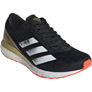 adidas Adizero Boston 9 Shoes Women core black/footwear white/gold met. core black/footwear white/gold met.