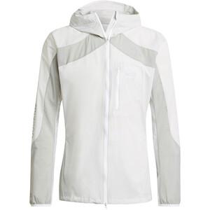 adidas Marathon Jacket Men, blanc/gris blanc/gris