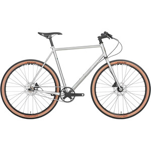 All-City Super Professional Single Speed silver silver