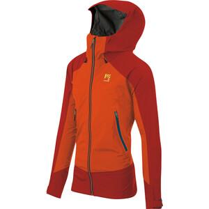Karpos Storm Evo Jacket Men, pomarańczowy/czerwony pomarańczowy/czerwony