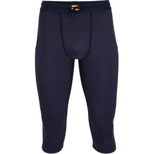Skins Series-3 3/4 Thermal Tights Men, sininen sininen