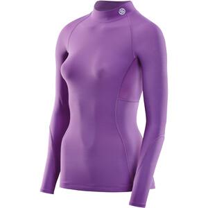 Skins Series-3 Thermal LS Shirt Women, violeta violeta