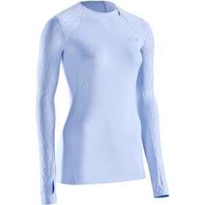 cep cold weather Langarmshirt Damen blau blau