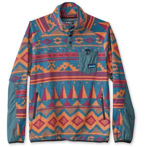 KAVU Teannaway Sweatshirt Men blå blå
