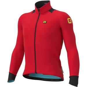 Alé Cycling Klimatik K-Idro Maillot Manga Larga Hombre, rojo rojo
