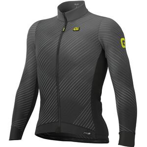 Alé Cycling PR-S Storm Langarm Trikot Herren schwarz/grau schwarz/grau