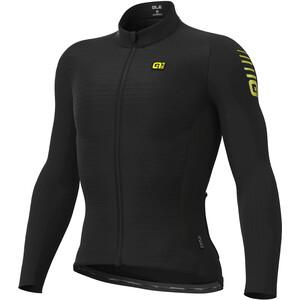 Alé Cycling R-EV1 Warm Race 2.0 Langarm Trikot Herren schwarz schwarz