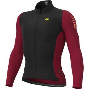 Alé Cycling R-EV1 Warm Race 2.0 Langarm Trikot Herren schwarz/rot schwarz/rot