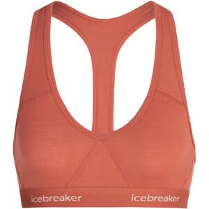 Icebreaker Sprite Racerback Bra Women grå/beige grå/beige