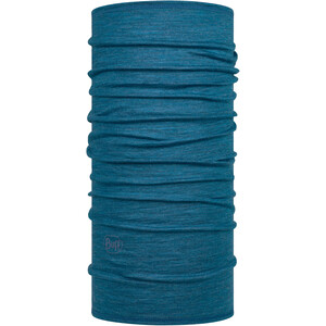 Buff Lightweight Merino Wool Tubo de cuello, azul azul