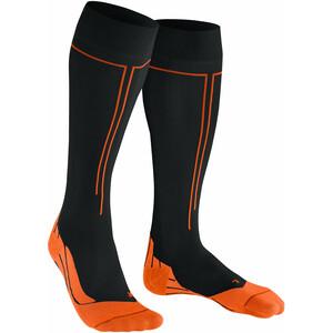 Falke Energizing Socken Herren schwarz/orange schwarz/orange