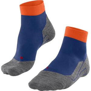 Falke RU4 Calcetines cortos running Hombre, azul/gris azul/gris