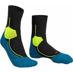 Falke Stabilizing Cool Socken Herren schwarz/blau schwarz/blau