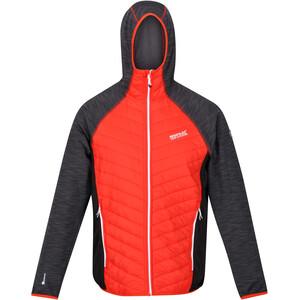Regatta Andreson VI Hybrid Jacket Men cajun orange/rhino marl/black cajun orange/rhino marl/black