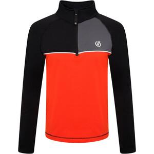 Dare 2b Formate Core Stretch Langarm Oberteil Kinder schwarz/orange schwarz/orange