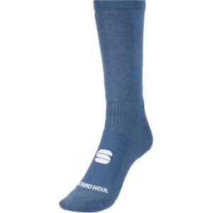 Sportful Merino Wool 18 Socken blau/schwarz blau/schwarz