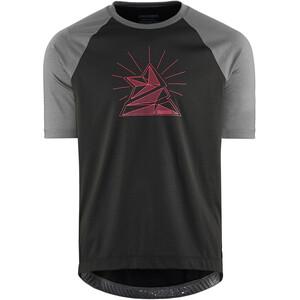 Zimtstern PureFlowz Shirt SS Men svart/grå svart/grå