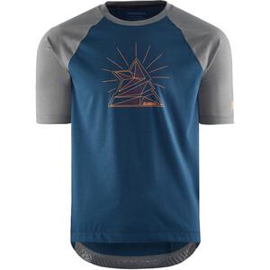 Zimtstern PureFlowz Shirt Kurzarm Herren blau/grau blau/grau