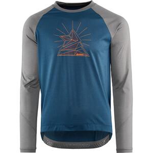 Zimtstern PureFlowz Skjorte Herrer, blå/grå blå/grå