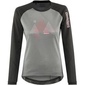 Zimtstern PureFlowz Shirt LS Women, gris gris