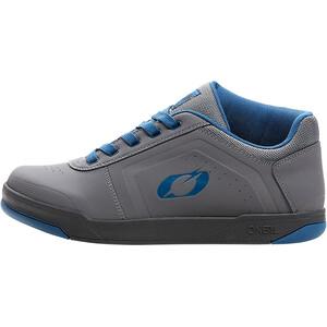O'Neal Pinned Pro Flat Pedal Schuhe Herren grau/blau grau/blau