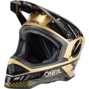 O'Neal Blade Polyacrylite Helm Delta schwarz/gold schwarz/gold